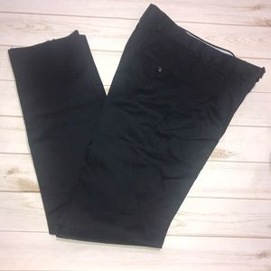 NEW! Black Saks Fifth Ave Navy Blue Hyde Pant-32R